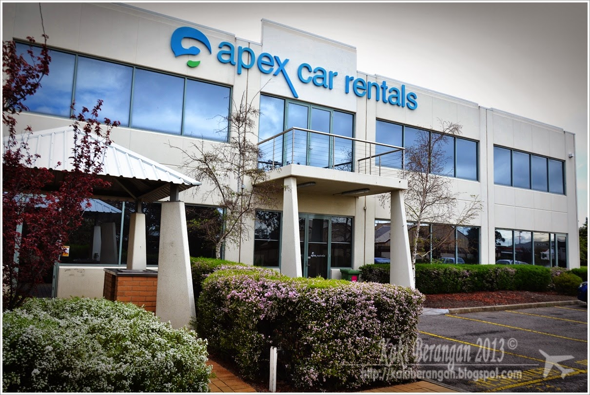 Apex Car Rental Melbourne Airport