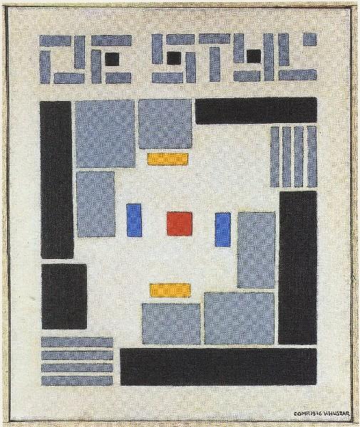 A modernist 39 s in a 21st century 1917 de stijl had a for De stijl architettura