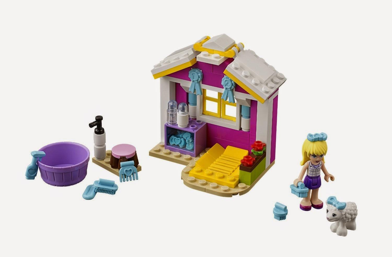 TOYS : JUGUETES - LEGO Friends  41029 El cordero recién nacido de Stephanie  Producto Oficial | Edad: 5-12 años