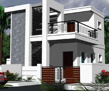 New home designs latest modern house exterior front Pictures of exterior home designs in india