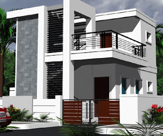 Furniture | Home Designs: Modern house exterior front ...