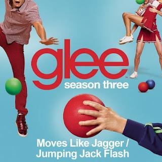 Glee - Moves Like Jagger/Jumpin' Jack Flash Lyrics