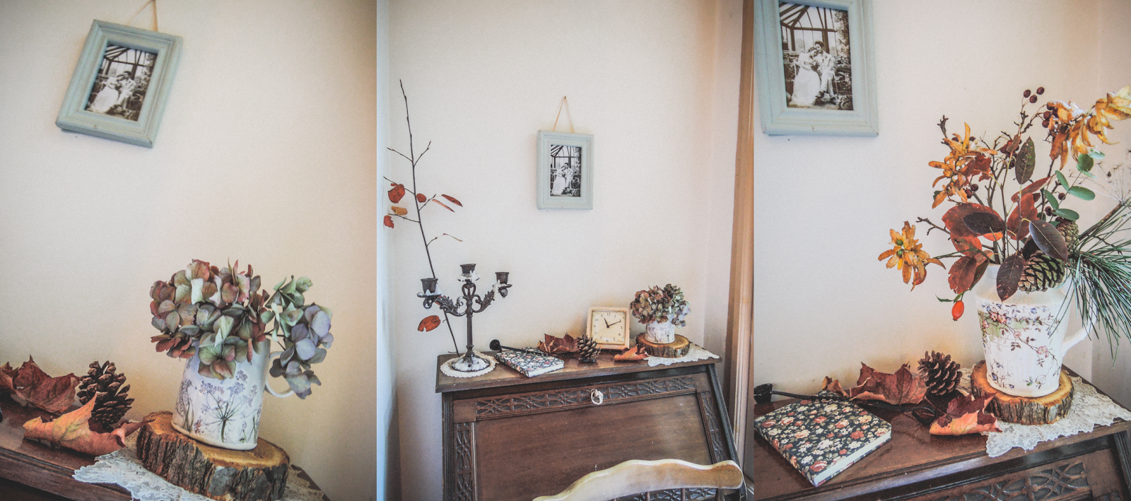 Decorating with autumn