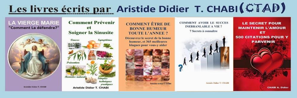 Les livres écrits par Aristide Didier T. CHABI