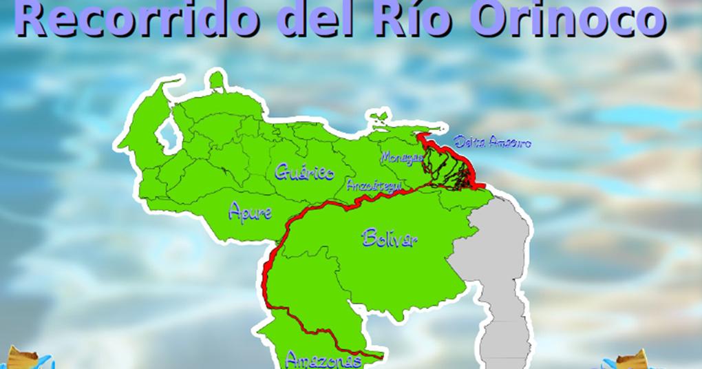 Geograf a de venezuela recorrido del rio orinoco for De donde sacan el marmol