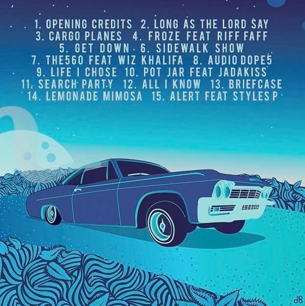 Curren$y - Pilot Talk 3  Tracklist cover