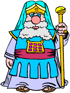 King Standing Clipart