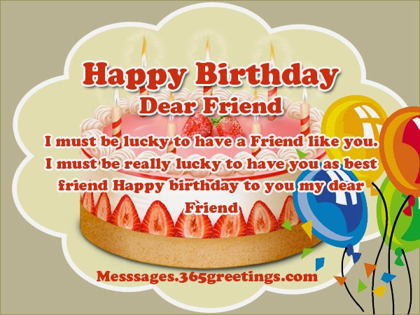 Happy Birthday Dear Friend Birthday Wishes – Islamic Birthday Greetings
