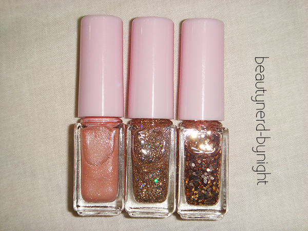 Etude House Juice Cocktail Nail Polish Trio Set