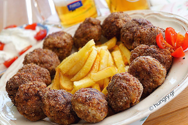 Meatballs with Ouzo