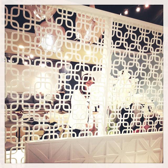 white bamboo wood divider screen living room bedroom decor design fretwork