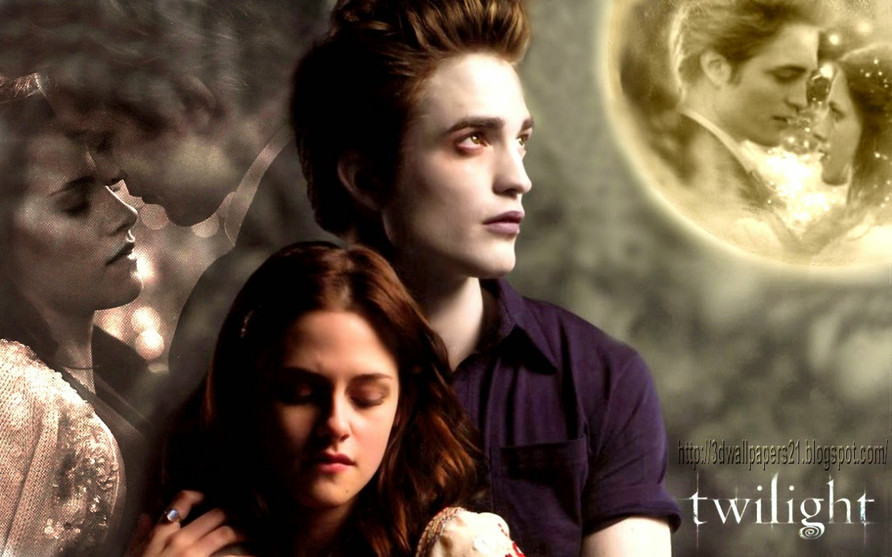 online movies wallpapers: kristen stewart and robert pattinson