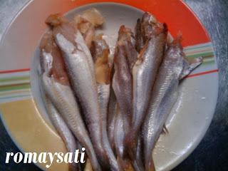 طبق سمك مقلي مشكل