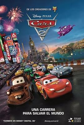 Película CARS 2 [Un link] [Español]