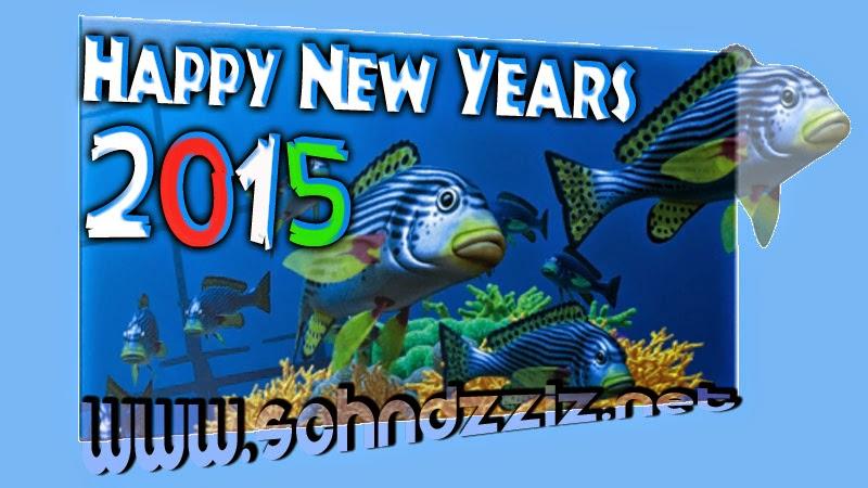 Animasi DP BBM Selamat Tahun Baru 2015