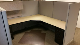 Used office cubicles, Herman Miller AO2