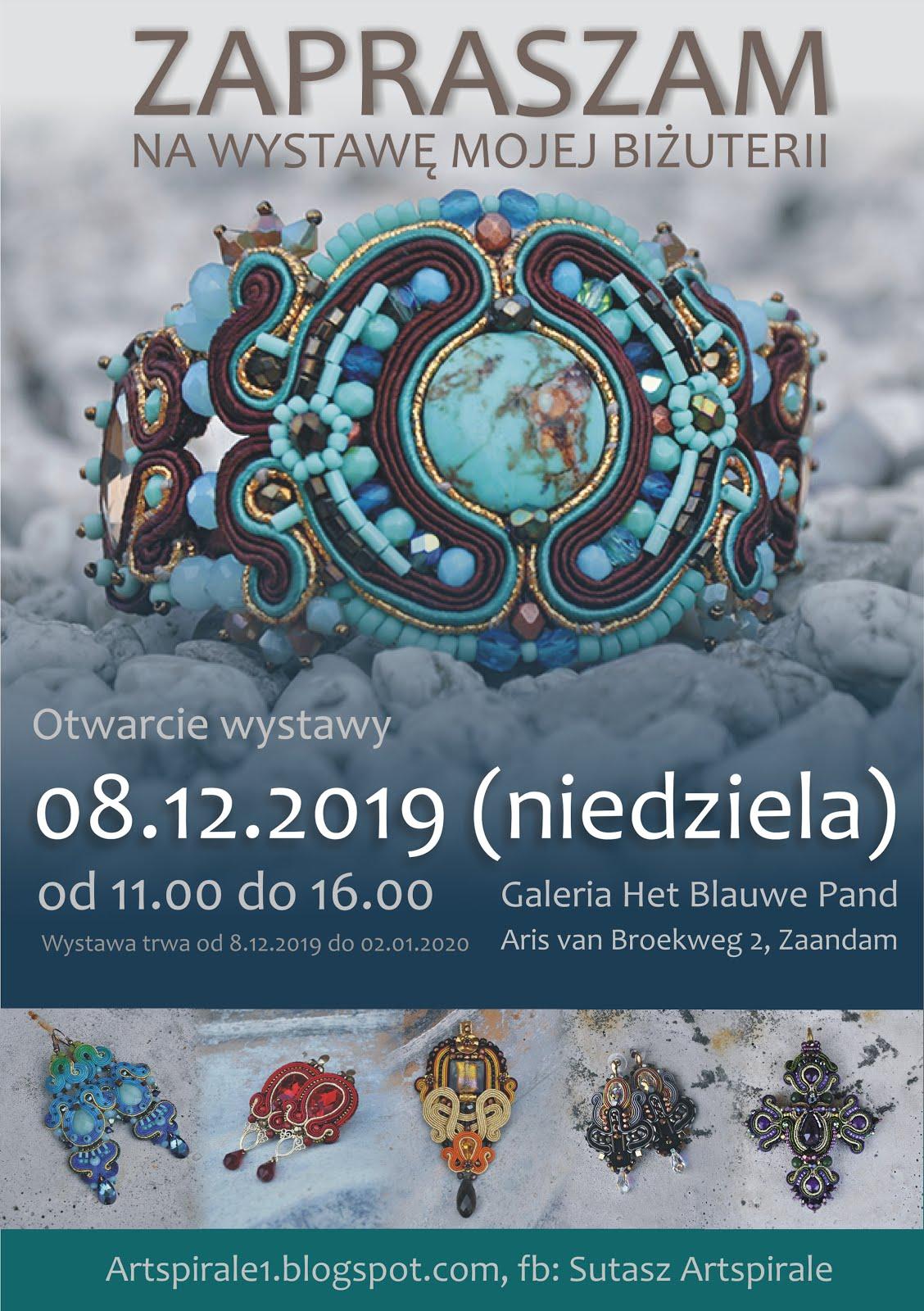Wystawa biżuterii, grudzień 2019, Holandia
