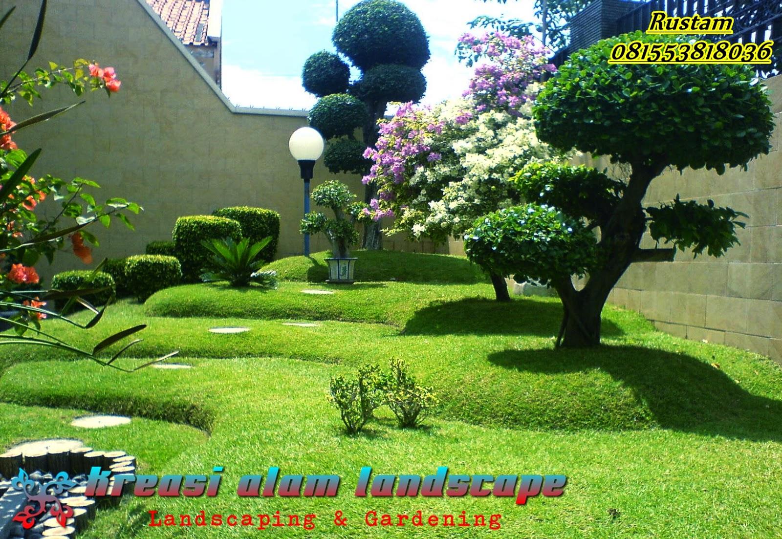 TAMAN KLASIK ORIENTAL KREASI ALAM LANDSCAPE Tukang Taman Jakarta