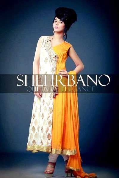 Shehrbano's Bridal Dresses 2014 Collection