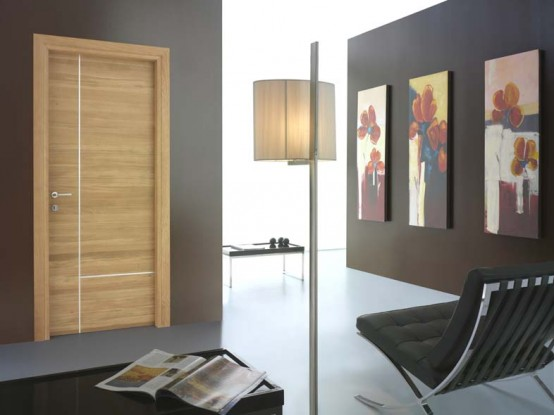 aluminum as a decoration finishing can be looked in the doors than the glass