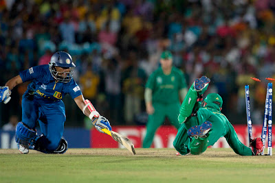 Tillakaratne Dilshan was run out, South Africa vs Sri Lanka at Hambantota ICC T20 World Cup 2012 7th match on 22nd September 2012