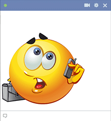 Business smiley for Facebook