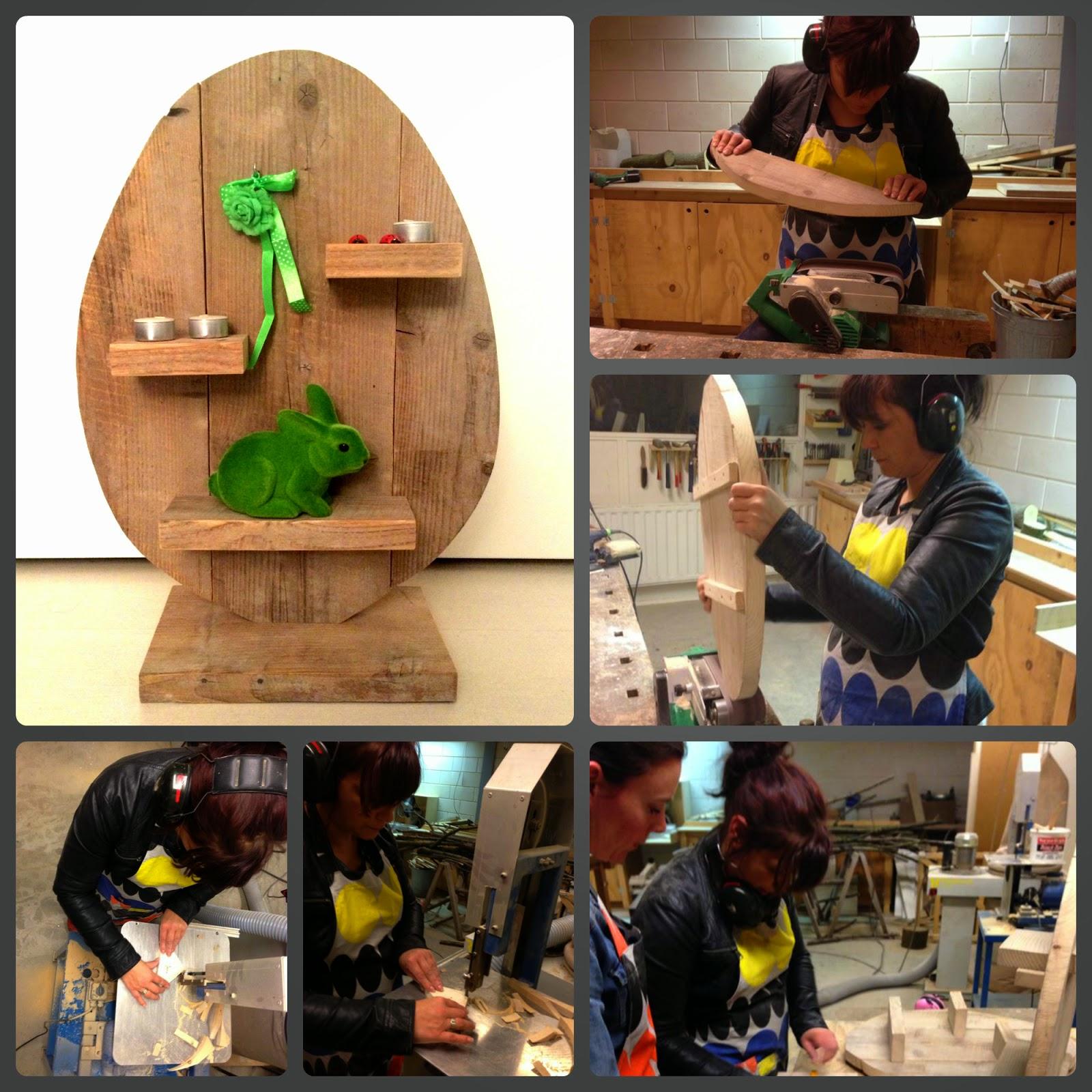 paasei workshop houtbewerking myJPK