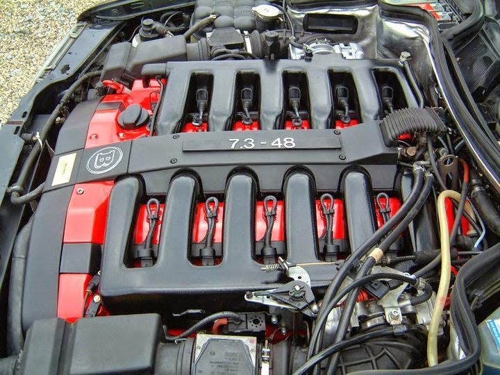 Brabus e7 3 v12 based on mercedes benz e500 w124 benztuning for Mercedes benz v 12 engine