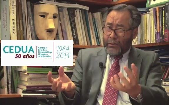 Video. Reflexiones de J. L. Lezama sobre los 50 Años del Cedua: Ciudad, Medio Ambiente y Población