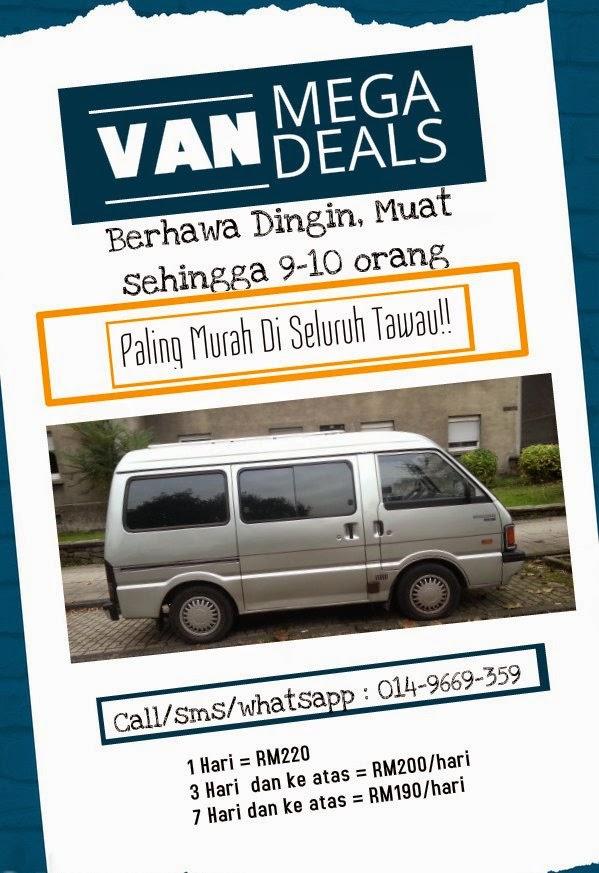 Van oleh Kereta Sewa Tawau J3