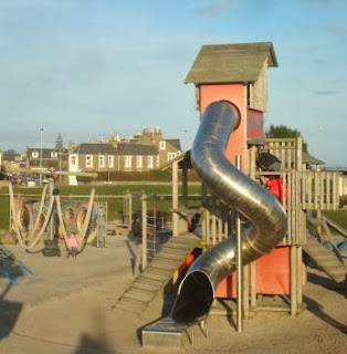 Castle Green Play Area in Broughty Ferry