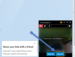 Firefox Hello வீடியோ அழைப்பு மேற்கொள்ள