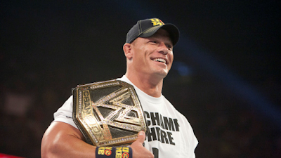 Cena with one of 15 titles