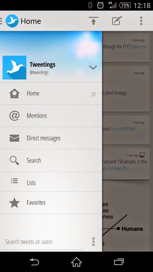 Tweetings for Twitter 7.18.1.1