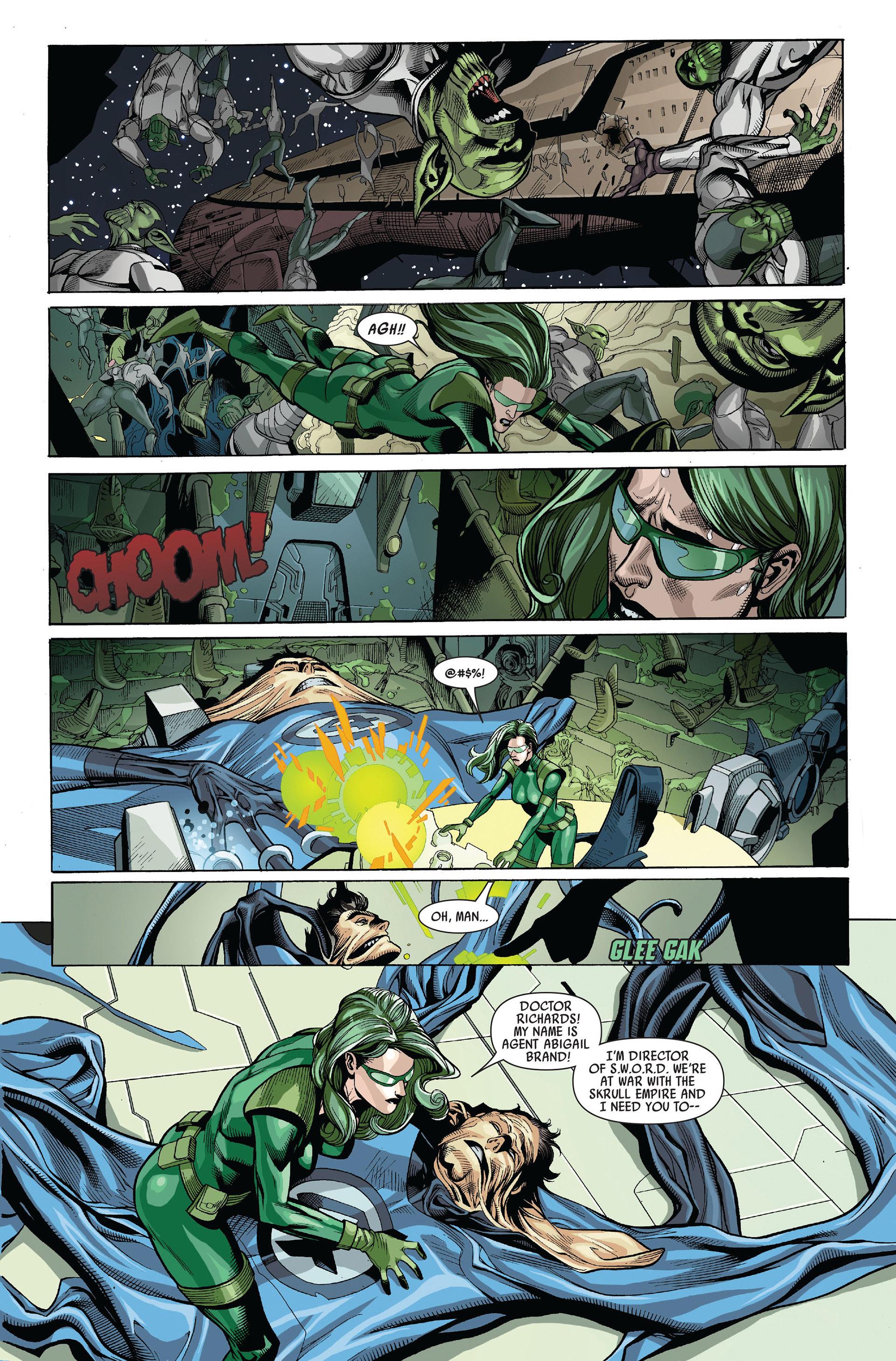Read online Secret Invasion comic -  Issue #5 - 10