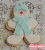 Galleta Muñeco de Nieve