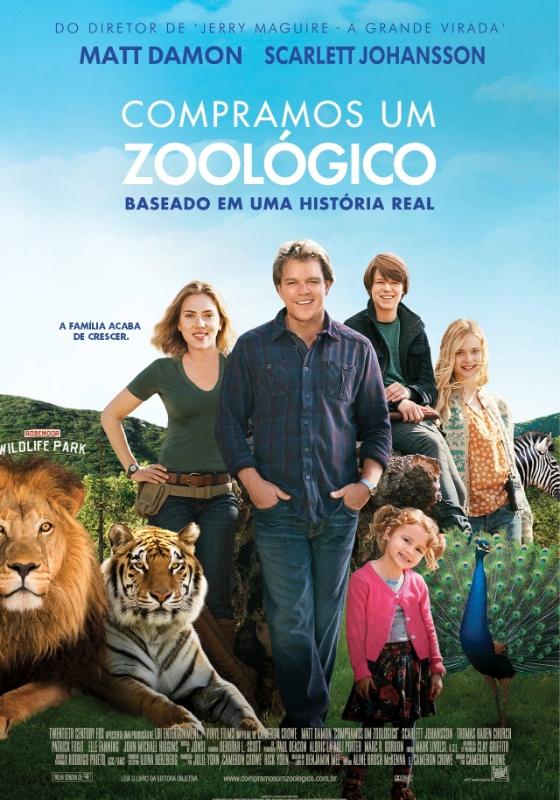 Cartaz do filme Compramos um Zoológico