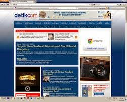 Detik News Style Blogger Template, Mantap!