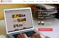 Pocket: permite guardar links, artículos, videos, y cosas interesantes de la web para verlas más tarde
