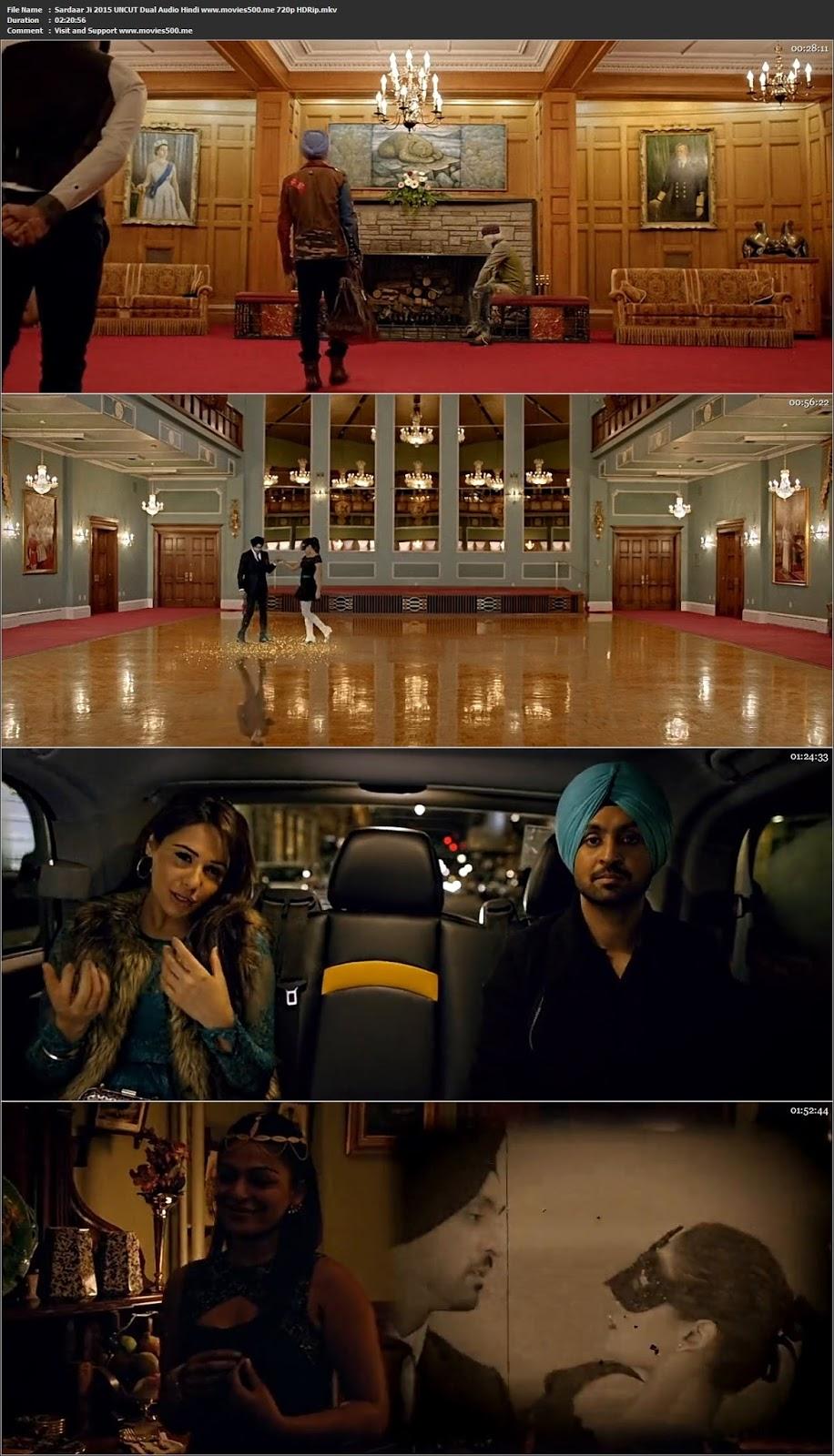 Sardaar Ji 2015 UNCUT Punjabi Movie HDRip 720p 1.4GB at 9966132.com