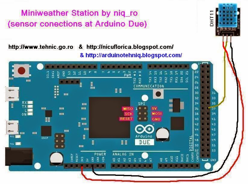 Arduino tehniq due and quot tft display with