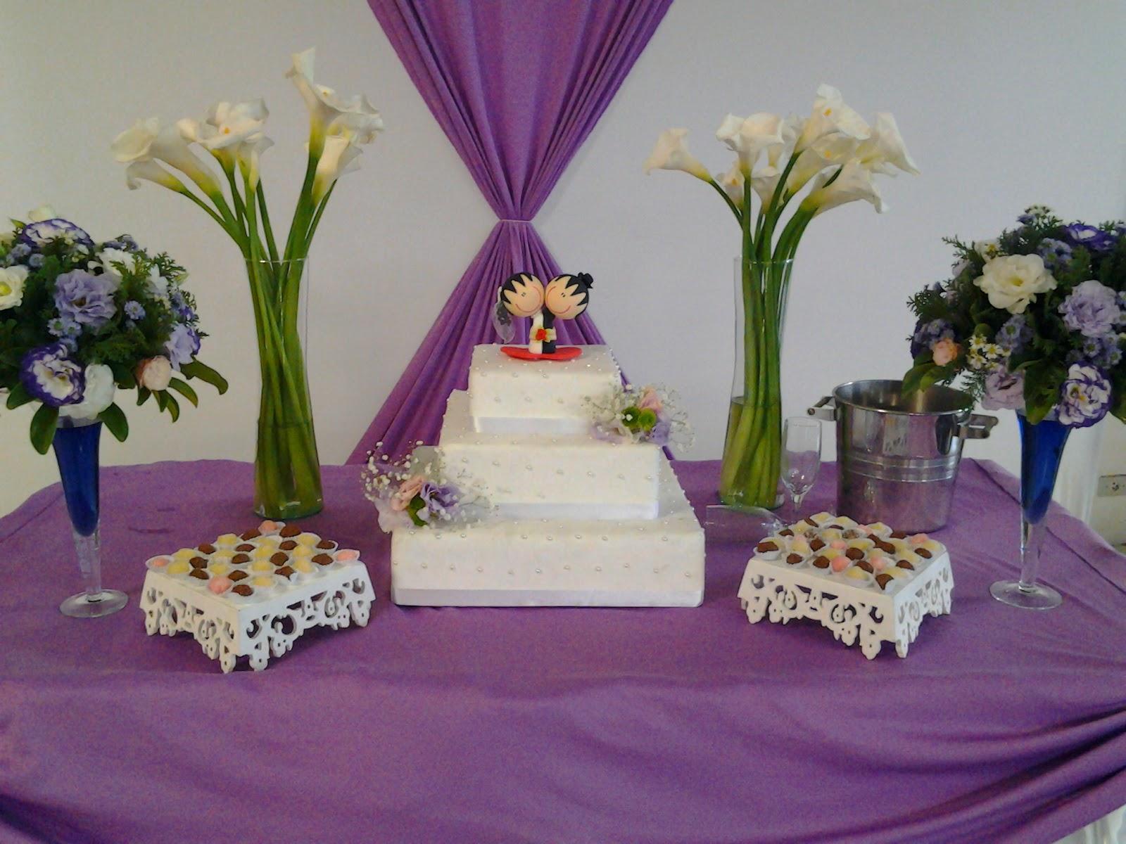 decoracao branco e lilas para casamento: de Casamento lilas e branco e Decoração de Casamneto vermelho e