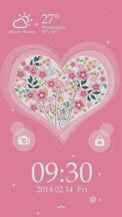 Valentine's Day Locker Theme For Android