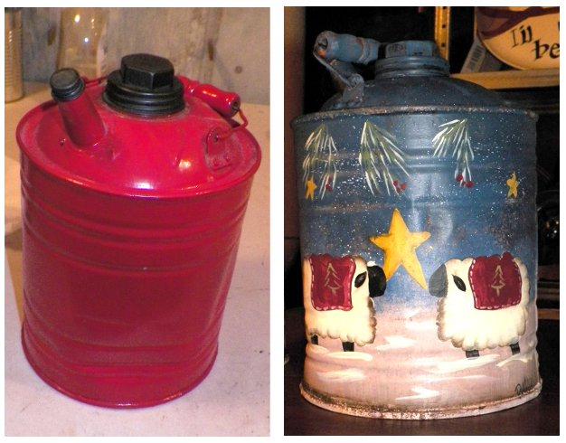 Crafting homemade handmade repurposed upcycle or for Repurposed milk cans