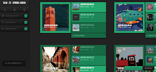 Dcm V2 Spring Green Blogger Template