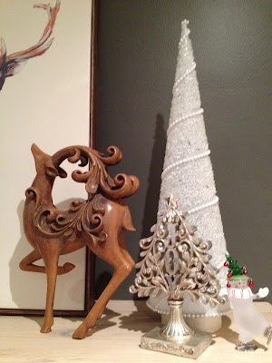 Using Paint to Make Holiday Decorations Come Together | ZenShmen | zenshmen.blogspot.ca