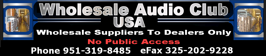 Car Audio Below Wholesale Distributors (951)319-8485