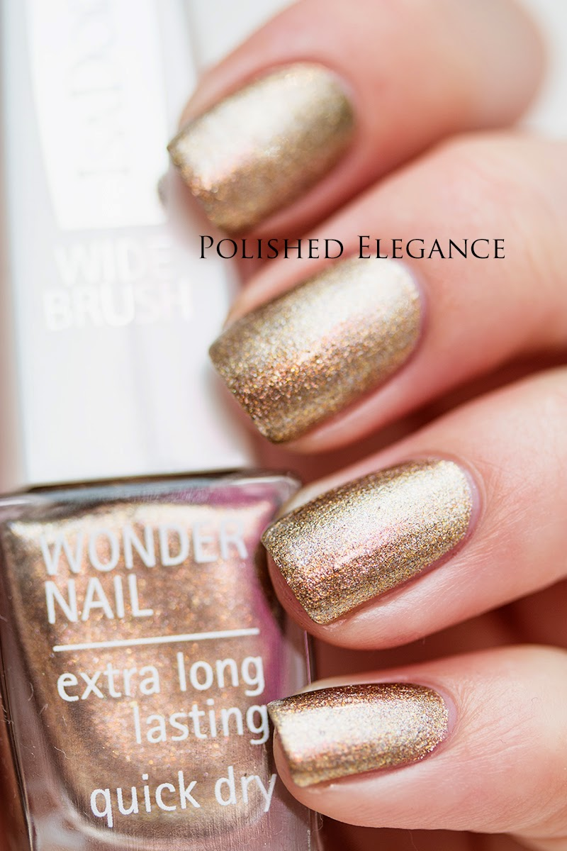 IsaDora - Vintage Gold swatch - Holiday 2014 Mesmerizing collection swatches review