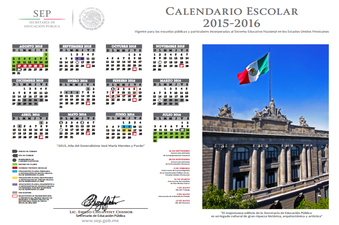 Calendarios De Pagos De La Dgeti Sep 2015 Calendar | Search Results ...