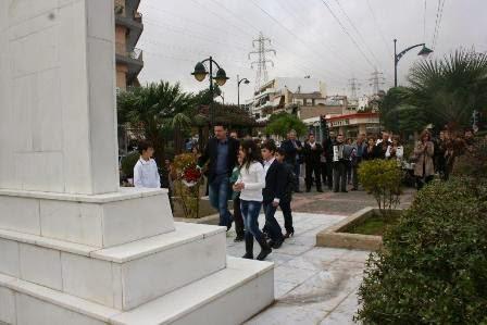 Εορτασμός της Επετείου του Πολυτεχνείου από τον Δήμο Αγίας Βαρβάρας